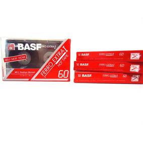 Fita Cassete - K7 - Basf 60 Ferro Extra I Hot Tape-new-nova