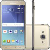 Smartphone Samsung Galaxy J7 Duos 16gb 13mp Dourado(vitrine)