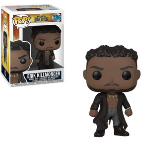 Funko Pop Marvel Black Panther 386 Erik Killmonger. Fun Labs dd5d1077e
