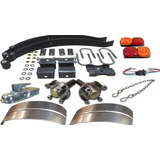 Kit Trailer 650 Kg Sin Eje Kit 24 B Envio Gratis