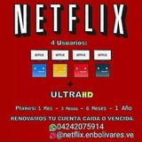 Vendo Cuenta De Netflix Al Mejor Precio Mercado Lider