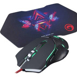 Mouse Marvo Gamer M309 + Pad G7 De Regalo