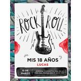 Tarjetas Invitaciones Cumpleanos De Rock En Mercado Libre Argentina