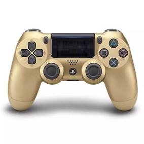 Controle Ps4 Gold Dourado Dualshock 4 Lacrado 976