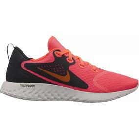 best cheap 93e07 d29a9 Tenis Dama Nike Legend React Negro Rosa Intenso Train Run