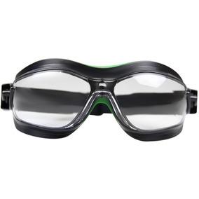 Óculos De Proteção Ampla Visão Helíx - Incolor-carbografite- 4c16d88591