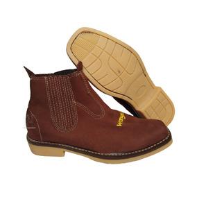 Botina Wrangler Couro Solado Latex Masculino - Sapatos no Mercado ... 4c3c3c179b3