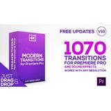 Projetos Editáveis 1070 Transições Para Adobe Premiere