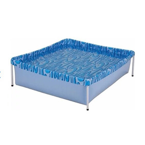 Piscina 400 Litros Pvc Azul Mor