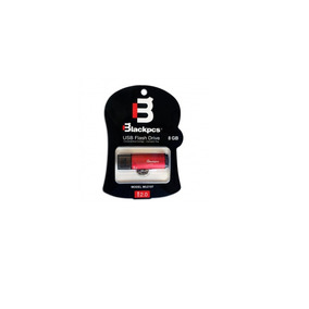 Blackpcs 2107 Memoria Flash Usb 2.0 8gb Rojo Plastico