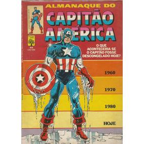 Almanaque Do Capitao America 66 - Abril - Bonellihq Cx15 I17
