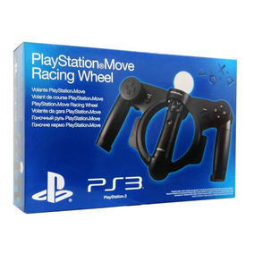 Volante Guidão Playstation Move Racing Wheel Sony Ps3 Ps4 Vr