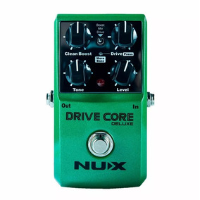 Pedal Nux Drive Core Deluxe Booster E Overdrive True Bypass