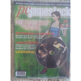 Revista Pc Gamestock Nº 5 Resident Evil 3 E Code Veronica Cd