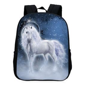Mochila Escuela Unicornio Impresión