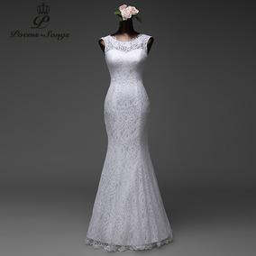 Vestido de novia encaje bogota