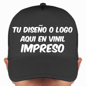 Gorra Trucker Personalizada Con Vinil Impreso A Colores 7931d2fbf6a