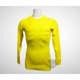 ef9d07917c171 Camisa Termica Nike Manga Longa Amarela no Mercado Livre Brasil
