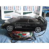 Antiguo Rebobinador Vhs Johnson Turbo Racing Car Funciona Bi