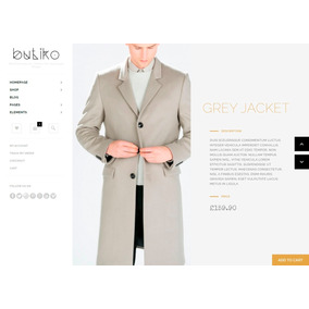 Template Loja Virtual Wordpress Woocommerce Para Boutiques