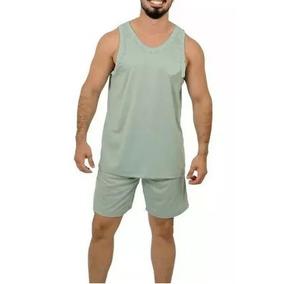 Kit C 6 Pijamas Masculino Regata Verão Regata +shorts d34768c4cd3