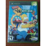 Video Juego Los Simpson Xbox Primera Generacion Estado 7/10