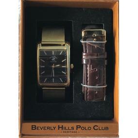 Reloj Polo Club Beverly Hills De Hombre (juego De Correas)