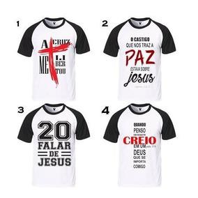 Kit 20 Camisas Com Frases Evangélicas Venda No Atacado 450ec9d26bd