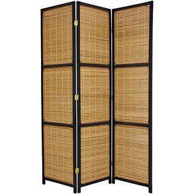 5 1/2 Tall Bamboo Matchstick Woven Room Divider + Expert Gui