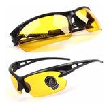 Óculos Visão Noturna P/ Dirigir A Noite Ciclismo Bike
