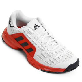 online store c1c24 6ae91 Tênis adidas Barricade Court 2 Brancovermelho aq2285