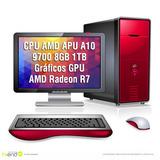 Cpu Armada Gamer Amd 9700 X10 Video R7 Ddr4 Fortnite Hi End