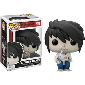 Funko Pop Death Note L With Cake #219