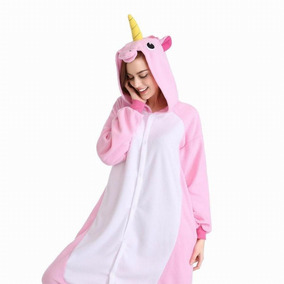 Pijama Unicornio Mameluco Cosplay Kigurumi Estrellas Rosa