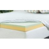 Colchoneta Topper Memory Foam 3 Pulg Hybrid Zinus King Size