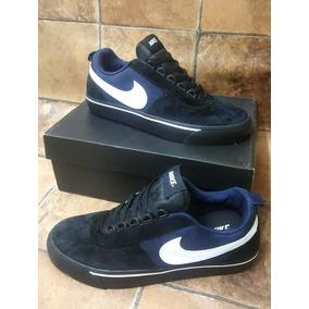 sale retailer 8586f b4091 Tenis Zapatillas Nike Sb Satire Negra Azul Hombre Env Gr