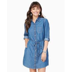 7d1108acf9939 Vestidos Cortos Charming Charlie Azul Jean - Talla L