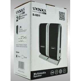 Caixa De Som Multimedia Speaker Sate S-001