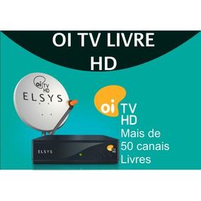 Oi Tv Livre Hd -mais De 50 Canais Livres, Inclui Globo Local