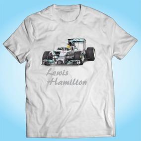 Autografo Lewis Hamilton - Camisetas e Blusas no Mercado Livre Brasil 5e2aa0099fb57