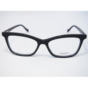 Armacao Oculos Ana Hickmann Preto Com Azul - Óculos no Mercado Livre ... 8cf149ffef