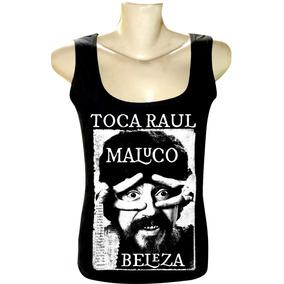 53008ebf56 Camiseta Raul Seixas Regata Feminina Bandas Rock Toca Raul
