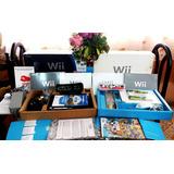 Nintendos Wii Con 4000 Juegos Incluidos Con Chip 2019