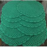 Sousplat 38cm Em Croche - Promoção- Preço Para 4 Unidades