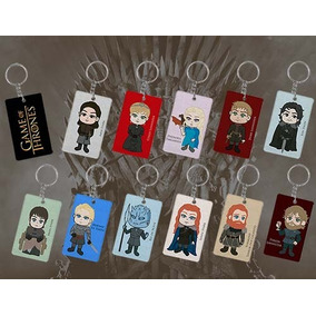 Kit De Chaveiros Game Of Thrones: 11 Chaveiros (personagens)