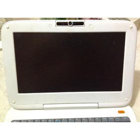 Mini Laptop Ultraplana Blanca