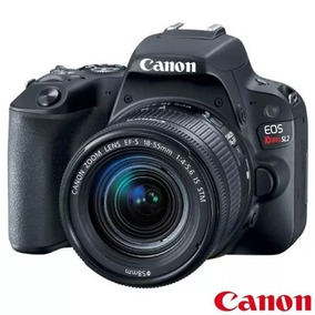 Câmera Canon Sl2 Efs 18-55mm+32gb + Bolsa Revend* Autorizado