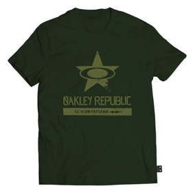 Franelas De Caballero Oakley Star Tee.