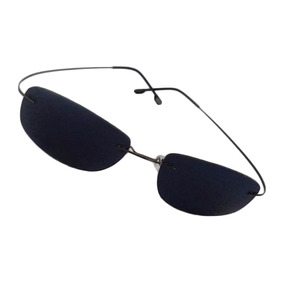 b21cf799fe0da Oculos De Sol Tipo Matrix Armação Titanio Masculino Feminino