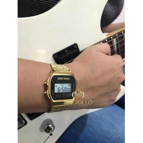 Relogio Mormaii Digital Feminino Dourado - Relógios De Pulso no ... 8d6d04abab